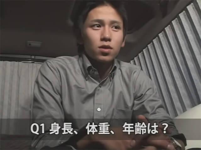【素人ゲイ動画】ハタチのノンケイケメンに質問攻め…質疑応答の後は卑猥な口技で膨張チンコをしゃぶり尽くすwwその1