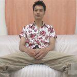 【無修正ゲイ動画】アロハシャツを着こなしている長身の素人の男がオナニーをして気持ちよくなる姿が見られちゃうww
