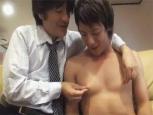 【セックスゲイ動画】親子愛を超越…父子家庭の父と子が近親相姦で関係を持ってしまうともう止まらない…ww