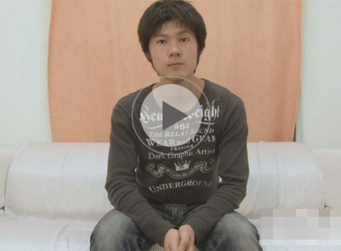 【無修正ゲイ動画】優等生の雰囲気がある素人の男がオナニーをしている姿を見せてくれちゃうww