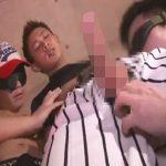 【セックスゲイ動画】アスリート系の爽やかなイケメンがゴーグルマン2人に襲われてアナルセックスをしまくるww