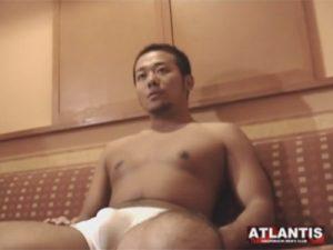 【オナニーゲイ動画】中田翔のような雰囲気があるマッチョの素人がハードなオナニー姿を見せてくれるww