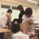 【乱交ゲイ動画】保健体育の授業は副担任も交えての大乱交…授業時間をフルに使って6Pセックスww