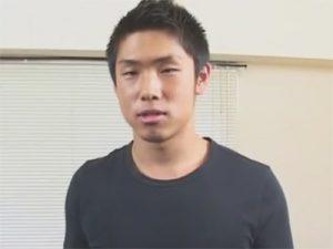 【素人ゲイ動画】「中尾明慶」似のノンケイケメンをローション手コキであっさりイカせるゴーグルマンww