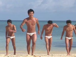 【企画ゲイ動画】沖縄旅行に来た6人に密着…精力旺盛なイケメンがビーチでホテルで乱交や生ハメアナルセックスww