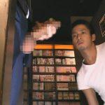 【フェラチオゲイ動画】漫画喫茶の個室ブースから飛び出していたリーマンの19センチのマラに夢中でしゃぶりつくイケメンww