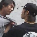 【無修正ゲイ動画】不良のガキどもに恐喝され青姦レイプ…アナルを犯され屈辱の顔射でザーメンをぶっかけられるノンケww