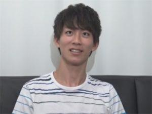【素人ゲイ動画】童顔で童貞のスジ筋のノンケイケメンに声をかけてスタジオでオナニーをする姿を撮影するww
