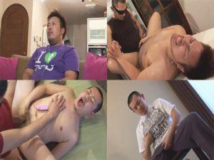 【企画ゲイ動画】誰専でリバのガチムチクマ系男子と野郎系の強面坊主のド淫乱なアナルセックス2本立て映像ww