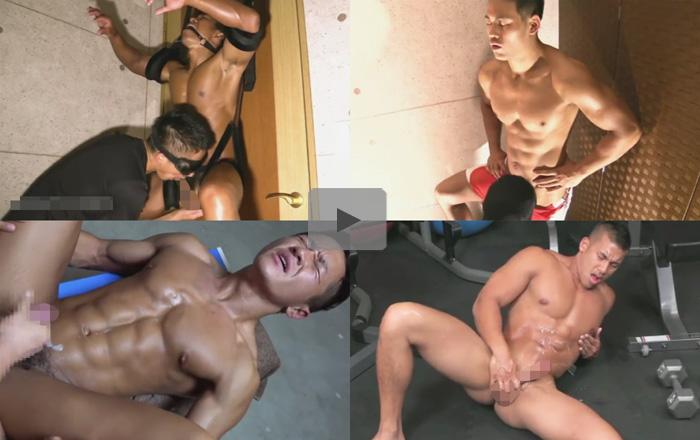 【無修正ゲイ動画】世界中のいろいろな人種のマッチョの男たちの肉体美を堪能できちゃうww