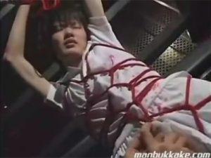 【SMゲイ動画】ジャニ系が芸術的に緊縛された状態でドMに調教され続けてアナルセックスで犯されるww
