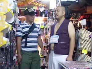 【企画ゲイ動画】「リアル玩具兄貴」という凹も凸もOKなリアルドールをアダルトショップで買ってみたww