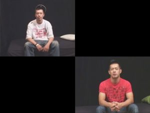 【素人ゲイ動画】ヒップホッパー風の素人やアスリート系の素人の男がプロにフェラチオされまくっちゃうww