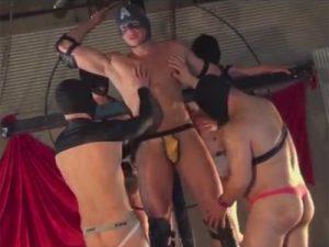 【企画ゲイ動画】筋肉野郎たちが乱交をしまくってみんなでザーメンまみれになりながら絶頂しちゃうww