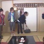 【企画ゲイ動画】温泉旅行に行った4人のギャル男系が部屋についている露天風呂で愛撫しあってフェラチオや手コキをするww