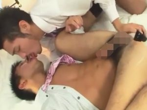 【無修正ゲイ動画】スーツ姿の「真崎航」がアナルセックスで絶倫っぷりを披露…連続2回射精の顔射で魅せプレイww